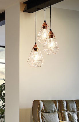 Tarbes Cluster Pendant