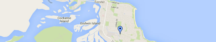 Forster Location Map