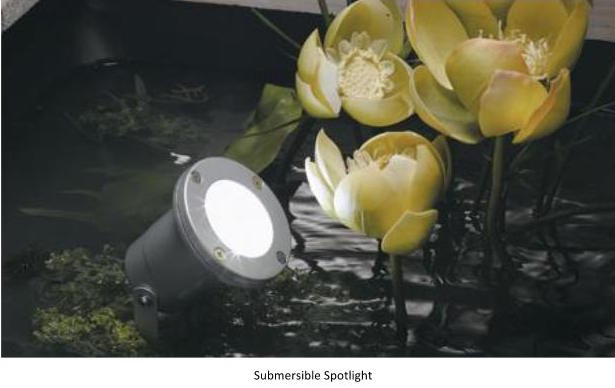 Submersible Spotlight