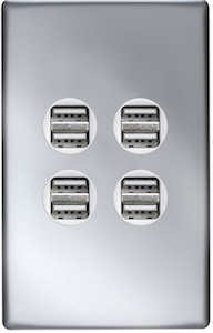 Legrand Excel Life USB wall plate